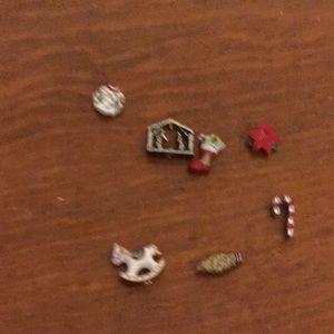 Origami owl Christmas charms